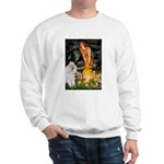 Fairies / Std Poodle(w) Sweatshirt
