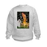Fairies / Std Poodle(w) Kids Sweatshirt
