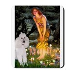 Fairies / Std Poodle(w) Mousepad