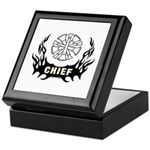 Fire Chief Tattoo Keepsake Box