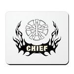 Fire Chief Tattoo Mousepad