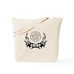 Fire Chief Tattoo Tote Bag