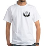 Fire Chief Tattoo White T-Shirt