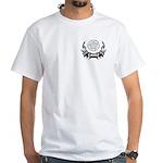 Fire Chief Tattoo White T-Shirt
