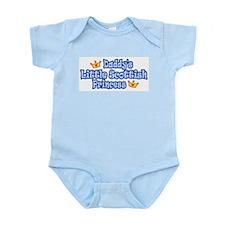 Daddy's Little Scottish Princ Infant Bodysuit