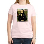 Mona / Std Poodle (bl) Women's Light T-Shirt