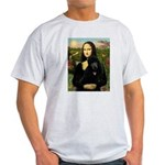 Mona / Std Poodle (bl) Light T-Shirt