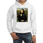 Mona / Std Poodle (bl) Hooded Sweatshirt
