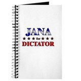 JANA for dictator Journal