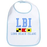 Long Beach Island - Light Blue Bib