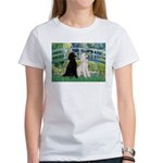 Bridge / Std Poodle (pr) Women's T-Shirt