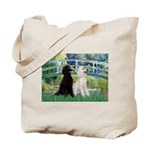 Bridge / Std Poodle (pr) Tote Bag