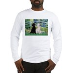 Bridge / Std Poodle (pr) Long Sleeve T-Shirt