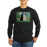 Bridge / Std Poodle (pr) Long Sleeve Dark T-Shirt