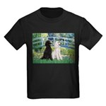 Bridge / Std Poodle (pr) Kids Dark T-Shirt
