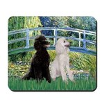 Bridge / Std Poodle (pr) Mousepad
