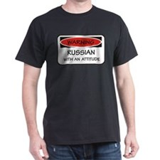 Russian With An Attitude T-Shirt