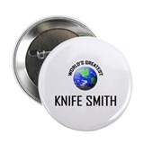 "World's Greatest KNIFE SMITH 2.25"" Button (10 pack"