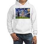 Starry / Std Poodle (s) Hooded Sweatshirt