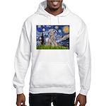 Starry / Std Poodle (s) Hooded Sweatshirt