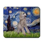 Starry / Std Poodle (s) Mousepad