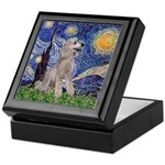 Starry / Std Poodle (s) Keepsake Box