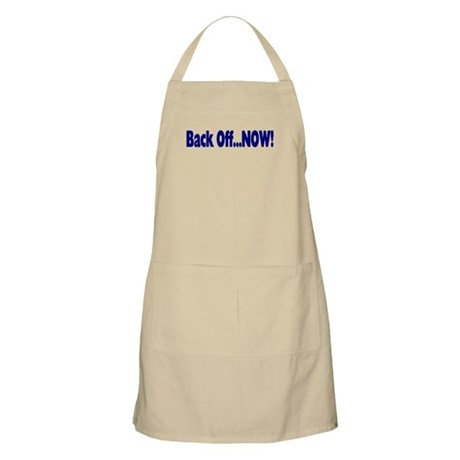 Back Off Now BBQ Apron