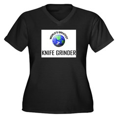 World's Greatest KNIFE GRINDER Women's Plus Size V