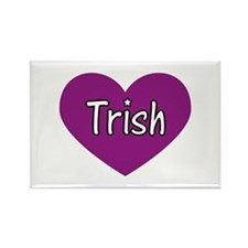 Trish Rectangle Magnet