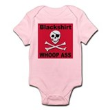 Nebraska Blackshirt Whoop Ass Infant Creeper