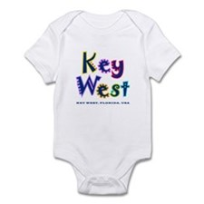 Key West Tropical Type -  Infant Bodysuit