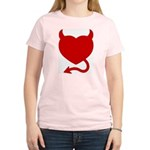 Devil Heart Women's Light T-Shirt