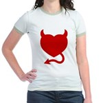 Devil Heart Jr. Ringer T-Shirt