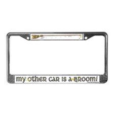 My Other Car is a Broom License Plate Frame