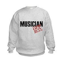Off Duty Musician Sweatshirt