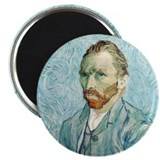 Vincent van Gogh Self-Portrait Magnet