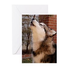 Howling Strider Greeting Cards (Pk of 10)