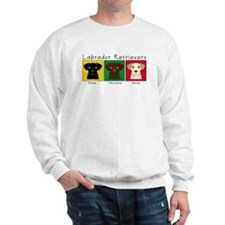 Three Labradors Sweatshirt