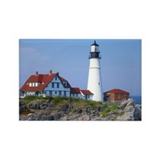 Portland Head Light Rectangle Magnet