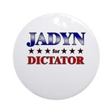 JADYN for dictator Ornament (Round)