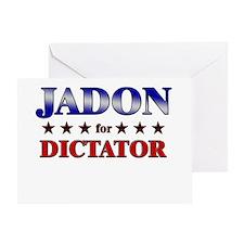 JADON for dictator Greeting Card