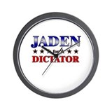 JADEN for dictator Wall Clock