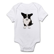 Sitting Cardigan Corgi Infant Bodysuit