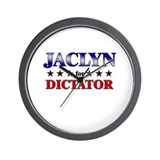 JACLYN for dictator Wall Clock