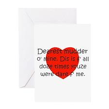 Mudder O Mine Greeting Card