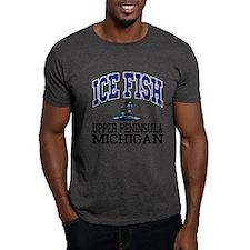 Ice Fish the Upper Peninsula T-Shirt