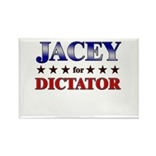 JACEY for dictator Rectangle Magnet