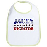 JACEY for dictator Bib