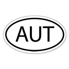 AUT Oval Decal
