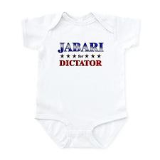 JABARI for dictator Infant Bodysuit
